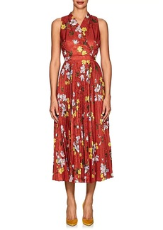 Erdem Women's Noemi Floral Jacquard Midi-Dress