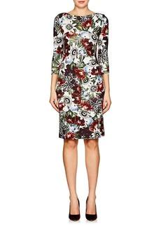 Erdem Women's Reese Floral Ponte Dress
