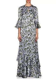 Erdem Women's Venice Floral Silk Satin