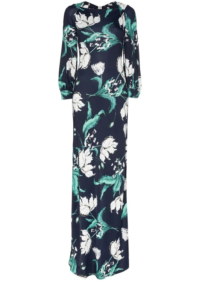 Erdem Etheline floral gown