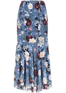 Erdem floral print maxi skirt