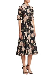Erdem Gisella Floral Dress