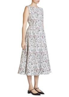 Erdem Kinsey Floral Midi Dress