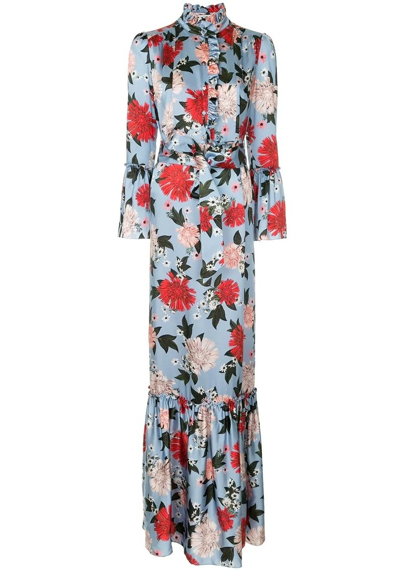 Erdem Stephanie floral dress