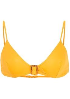 Eres buckled triangle-top bikini