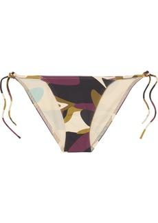 Eres Camouflage-print Bikini Briefs