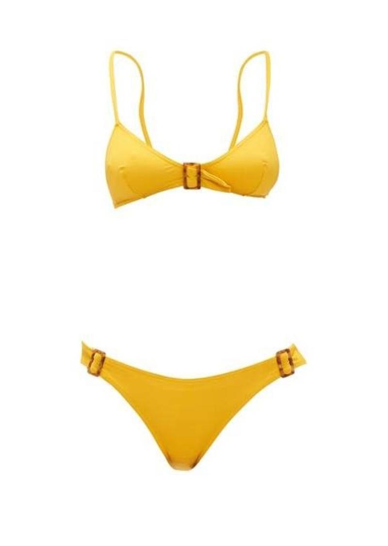 Eres Buckled triangle-cup bikini