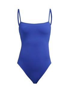 Eres Duni square-neck swimsuit