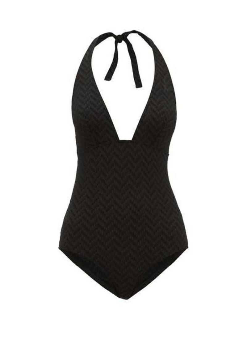 Eres Gabardine triangle-top one-piece swimsuit
