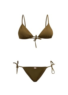 Eres Mouna + Malou triangle bikini set