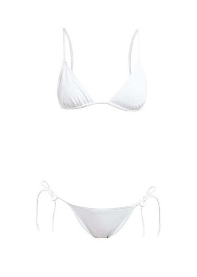 Eres Mouna Malou triangle bikini set