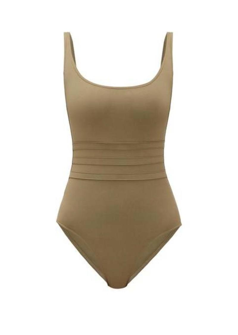 Eres Panelled-waist scoop-neck swimsuit