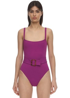 Eres Guilty Belted One Piece Swimsuit