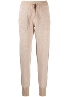 Eres Journal chunky-knit lounge trousers
