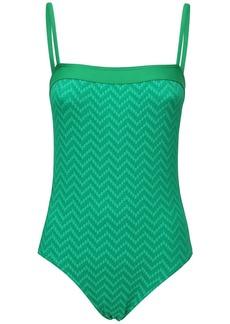 Eres Mocassin Textured One Piece Swimsuit