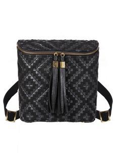 Eric Javits Kaja Convertible Water Resistant Faux Leather Backpack