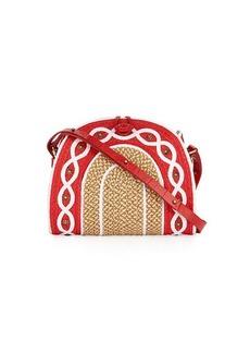 Eric Javits Lil Jiva Woven Straw Shoulder Bag