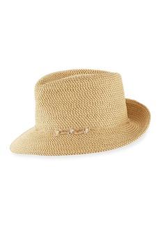 Eric Javits Mustique Squishee Packable Sun Fedora Hat