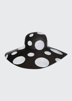 Eric Javits Polka Dot Sun Hat