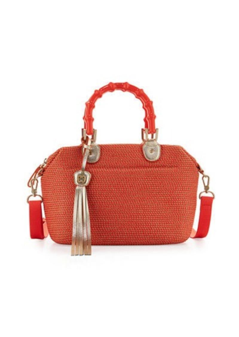beb238f0f1f3 Eric Javits Eric Javits Squishee® Straw Capri Bamboo-Handle Tote Bag ...