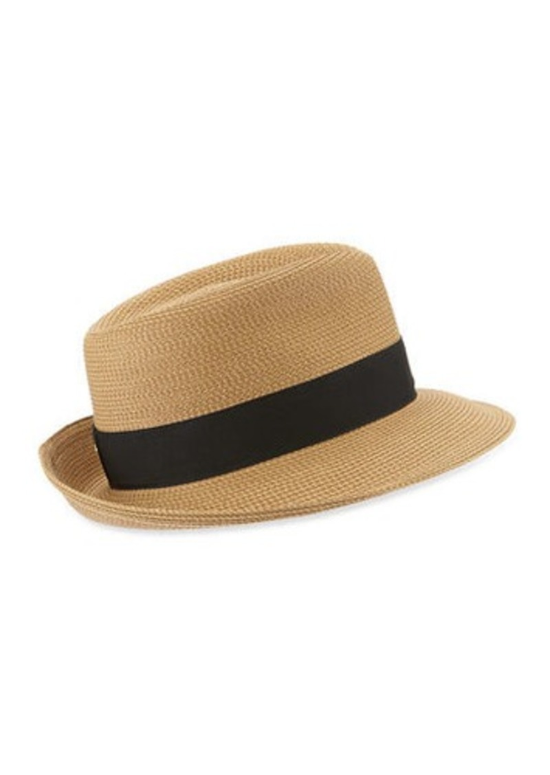 6f9922bf0d4 Eric Javits Squishee Classic Woven Fedora Hat