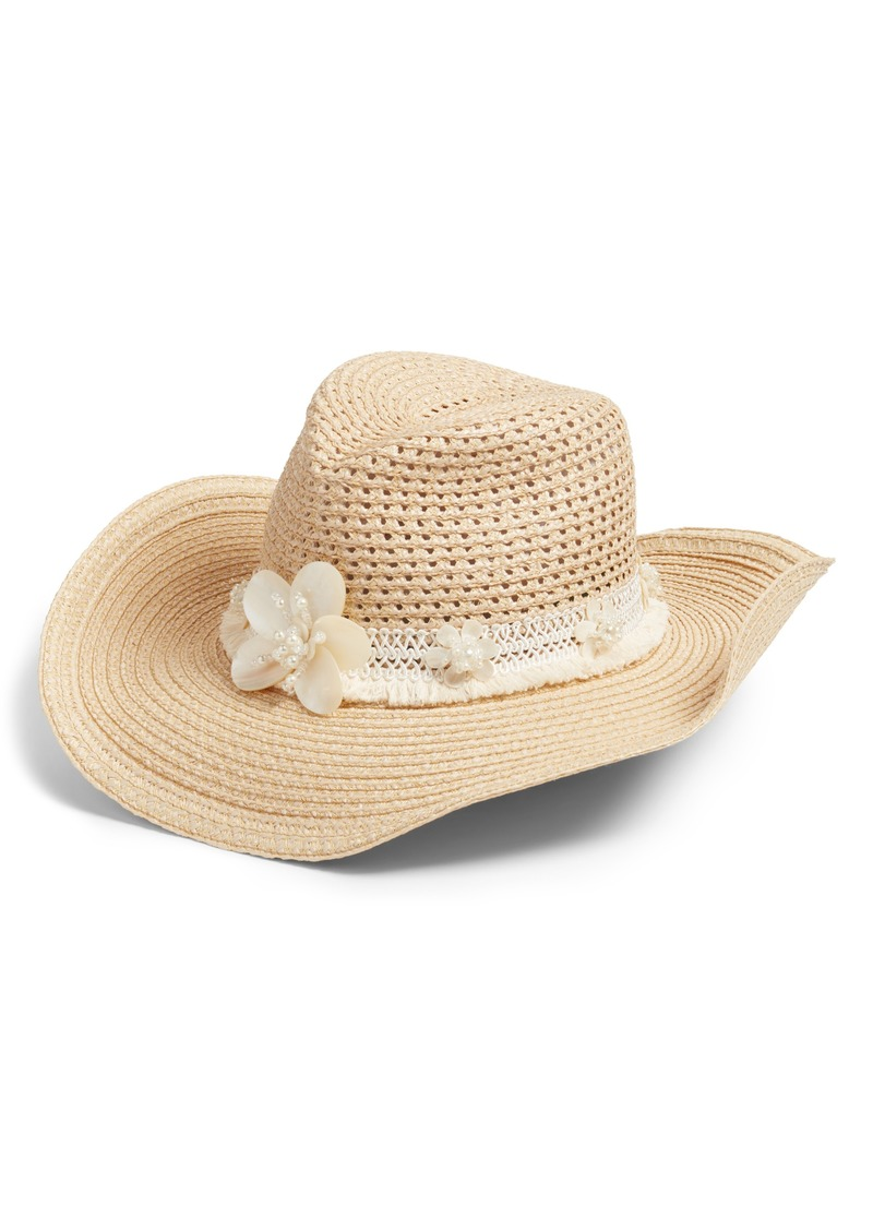 0089fdc8b70 Eric Javits Eric Javits St. Tropez Squishee® Western Hat with Mother ...