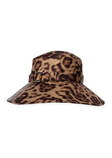 Eric Javits Kaya Leopard-Print Hat