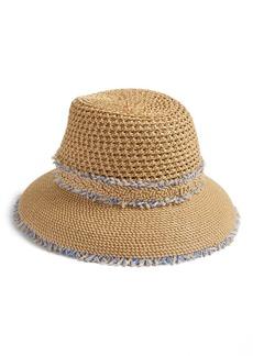 Eric Javits Lulu Squishee(R) Straw Hat