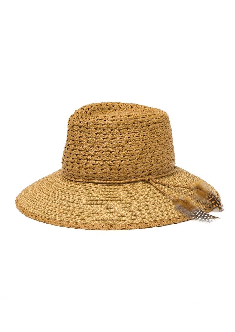 Eric Javits Muna Squishee(R) Straw Hat