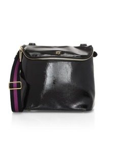 Eric Javits Slick Patent Crossbody Bag