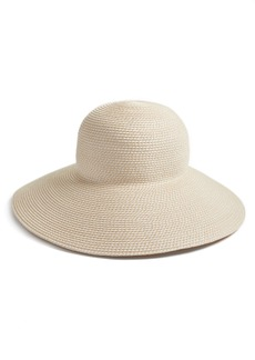 Women's Eric Javits 'Hampton' Straw Sun Hat - Ivory