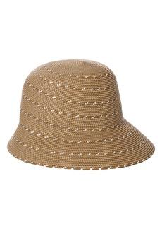 Women's Eric Javits Kimi Squishee Packable Bucket Hat - Beige