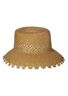 Women's Eric Javits Mita Squishee Bucket Hat - Beige