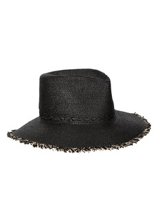 Women's Eric Javits Mykonos Squishee Packable Fedora Sun Hat - Black