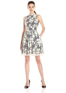Erin erin fetherston Women's Ceecee Floral Organza Halter Dress