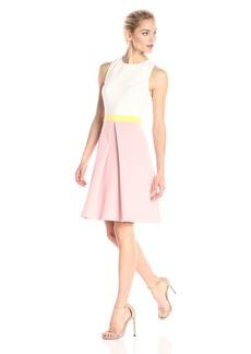 ERIN erin fetherston Women's Colorblock Callie Crepe Knit Dress