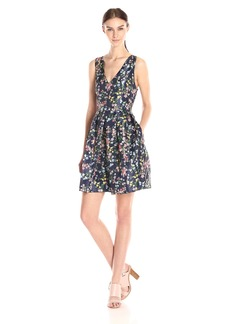 Erin Erin Fetherston Women's Floral Fit and Flare Devon Dress
