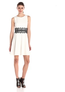 Erin Erin Fetherston Women's Gia Golden A Line Dress