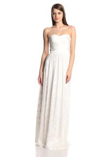 ERIN erin fetherston Women's Hyacinth Chiffon Strapless Evening Gown
