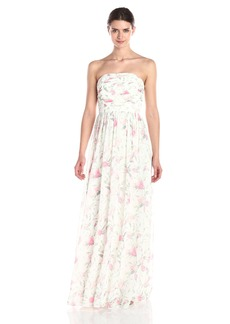 Erin Erin Fetherston Women's Isabelle Floral Ruched Gown