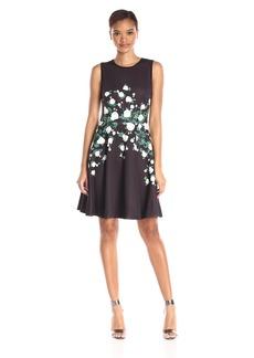 Erin Erin Fetherston Women's Neoprene Floral Suzie Dress