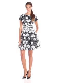 Erin Erin Fetherston Women's Sadie Floral Organza Flare Dress
