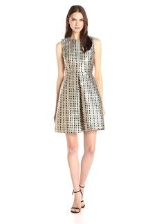 Erin Erin Fetherston Women's Sophie Metallic Dot Dress