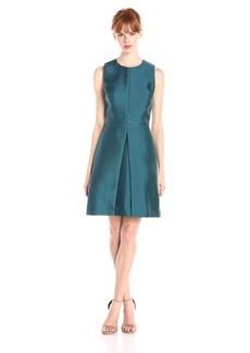 ERIN erin fetherston Women's Sophie Silky Twill A-Line Dress