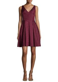 Erin Fetherston Coco Sleeveless V-Neck Fit & Flare Dress