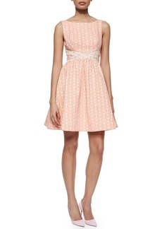 Erin Fetherston Edie Floral Fit & Flare Dress
