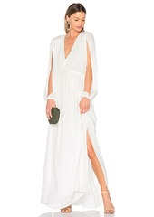 Erin Fetherston Lotus Queen Maxi Dress in White. - size S (also in M,XS)