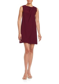 Erin Fetherston Sleeveless Bow Accented Shift Dress
