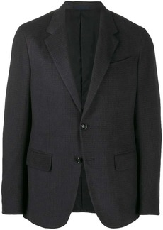 Ermenegildo Zegna houndstooth single-breasted blazer