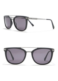 Ermenegildo Zegna 54mm Aviator Sunglasses